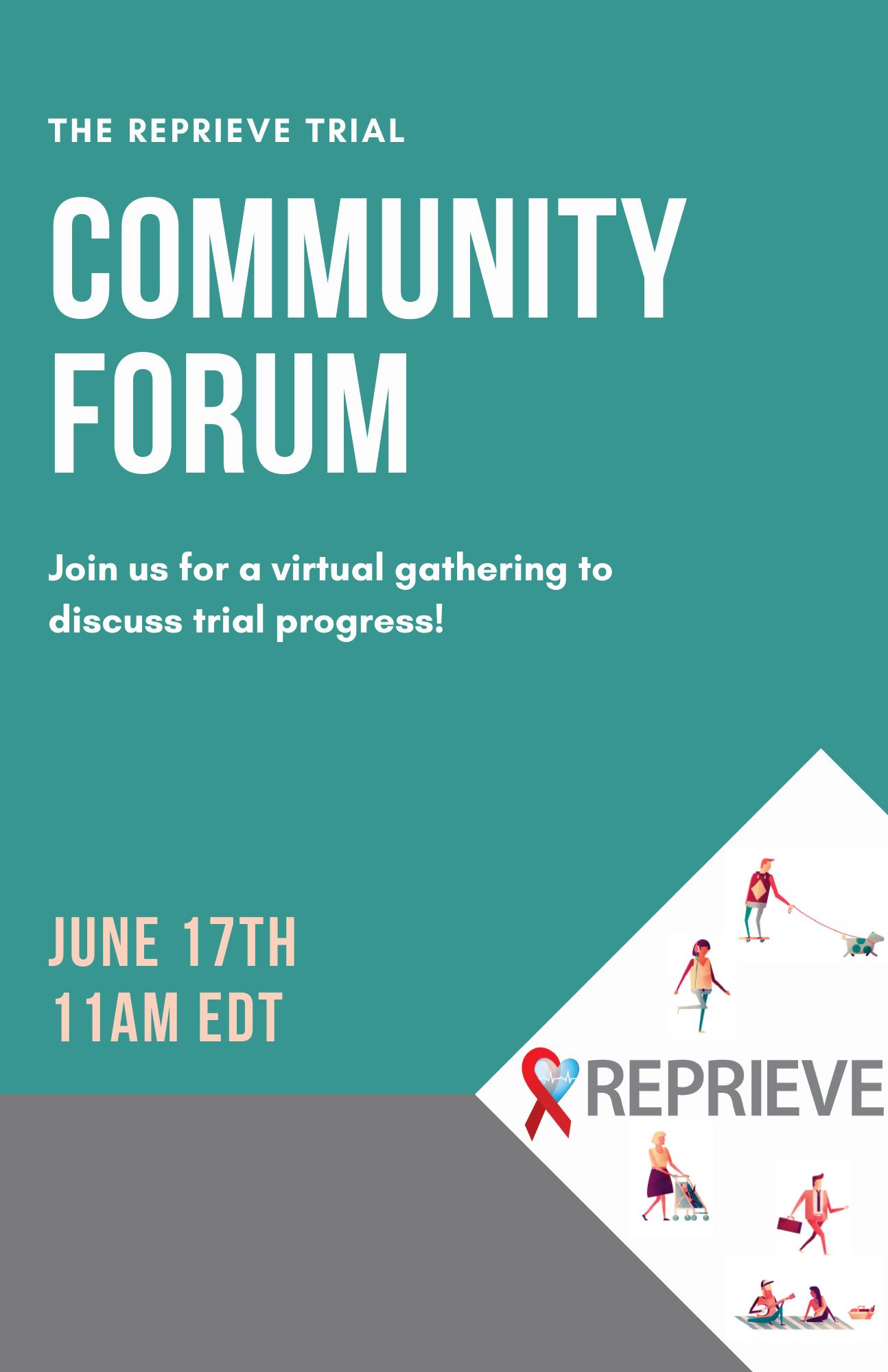 REPRIEVE Community Forum (2)