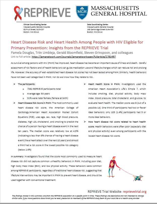 CVD Risk Plain Language Summary